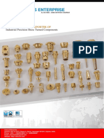 Manufacturer & Exporter of Industrial Precision Brass Turned Components