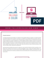 Guía Curso Online Agendas Con InDesin