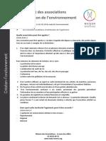 L'Agrément Des Associations de Protection de l'Environnement