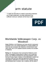 Long Arm Statute