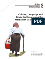 Teaching and Participant Observation. Interconnections of Culture and Language in an Eastern-European Local Society