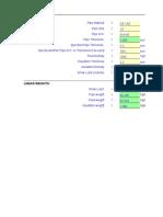 Linear Weight Calculator