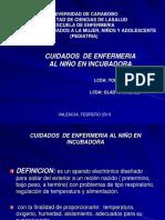 _cuidados DEL RN en Incubadora
