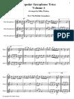Popular Sax Trios