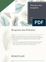 Flokulasi Dan Koagulasi