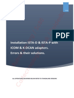 Bmw Icom Ista Inpa E-sys FAQ and Their Solutions