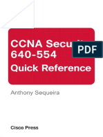 (640-554)CCNA Security 640-554 Quick Reference