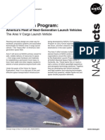 NASA 151420main aresV factsheet