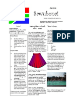 April 2006 Newsletter Grieve Missionary Project, South Africa