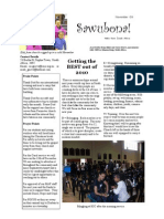 November 2009 Sawubona Newsletter Grieve Missionary Project, South Africa