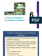 CH06 - L'Offre La Demande Et Les Politiques Publiques
