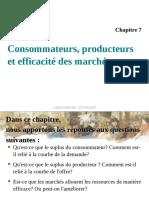 CH07 - Consommateurs Producteurs Et Efficacité Des Marchés