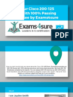 200-125 Exam QuestionsWith 100% Passing Guarantee