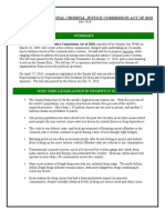 Criminal Justice Bill Factsheet July 2010