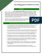 Criminal Justice Bill Factsheet July 2010