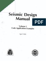 Seismic Design Manual 1999 Vol 1 SEAOC