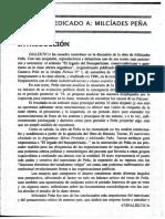 Dossier sobre Milcíades Peña. Revista Dialéktica n° 10 (julio 1998)