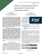 An Experimental Study on Polypropylene Fibre As