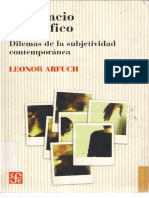 Arfuch - El espacio biografico - dilemas de la subjetividad contemporanea.pdf
