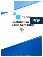 Cscart Installation Local