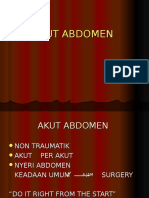 DIG - Akut Abdomen