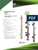 Serie LT Indicador Detector y Transmisor de Nivel Rev2 Catalogo Tecnico