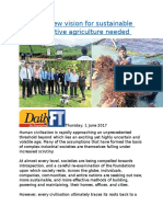 A radical new vision for sustainable and innovative agriculture needed.docx