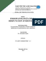 Disfunción Endotelial