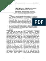 Pengaruh Waktu Pemanasan (Anil) Terhadap Ketahanan Korosi Pada Gelas Metalik Berbasis Zirkonium