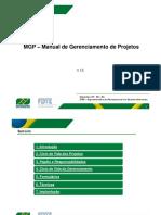 MGP - Manual de Gerenciamento de Projetos v1 2
