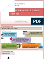 04 Tasas de Interes Equivalencias