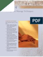 Chapter04 Massage Techniques