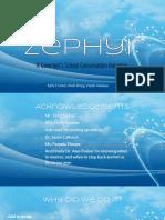zephyr final presentation