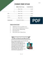 formatting assignment - michael karasik