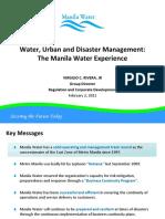 Manilla Water Pres
