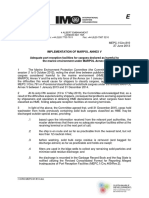 MEPC.1-Circ.810 - Adequate Port Reception Facilities for Cargoes Declared as Harmful to the Marine Environme... (Secretariat)