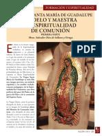 Maria Madre Espiritualidad de Comunion