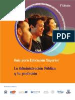 La Administración Pública y Tu Profesión