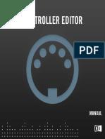 Controller Editor Manual English