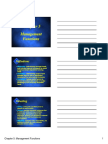 Chapter5 Management Functions