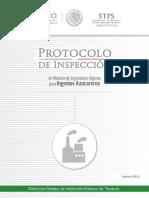 Protocolo Ingenios Azucareros