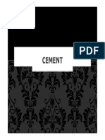 Cement Lecture