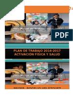 Plan Anual de Trabajo Activación Física