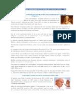 Las Encíclicas Pontificias Que Han Marcado La Historia de La Iglesia Católica y Del Mundo