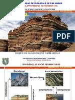 Geotecnia Formacion y Origen de Las Roca