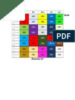 Horario Educador Diferencial 2017