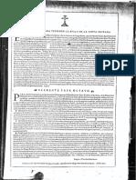 Bula 1612 Santo Toribio