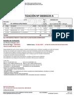 Cotizacion Nro 23-00000229-A Para Constructora Apeh s.a.c.