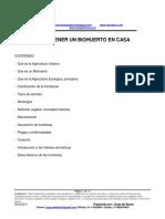 Como Tener Un Biohuerto en Casa (PDF)