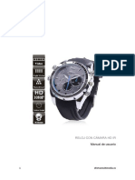 Reloj Con Camara HD Manual Uso